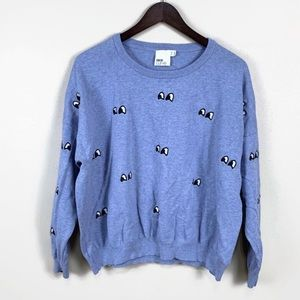 ASOS Blue Eyes Sweater | L